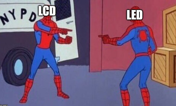 lcd vs led monitor
